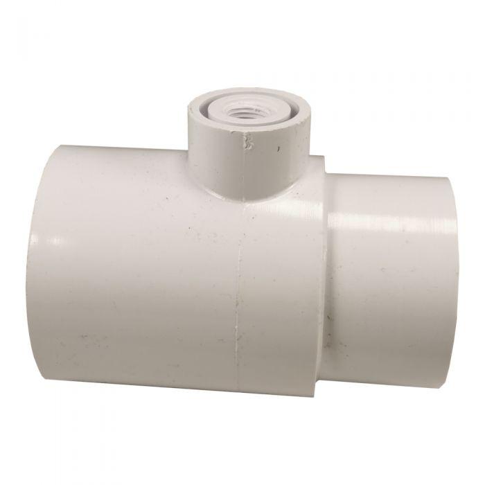 Spa PVC T-stuk voor ontluchting voor leidingwerk 2 inch