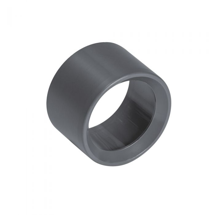 Spa PVC verloop van 1 inch naar 3/4 inch