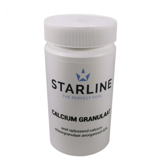 Starline calcium granulaat - korrels bus van 1 kg.