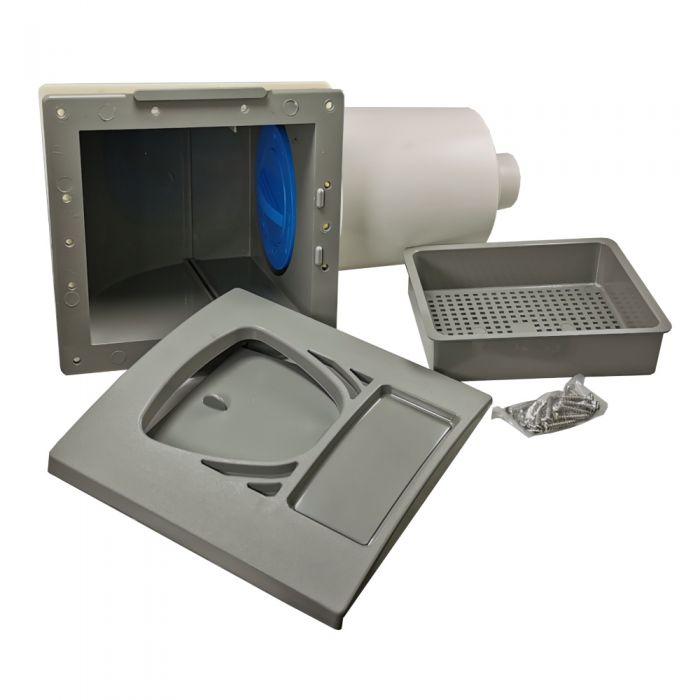Inbouwdeel filterhouder inclusief mandje, skimmerklep en filter Waterway 510-9027
