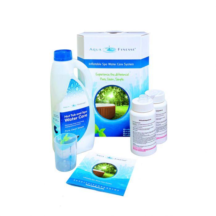 AquaFinesse voor opblaasbare spa's zoals Intex, Easyway, Bestway etc.