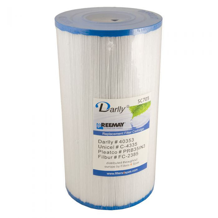 Spa filter Darrly SC705 40353 - Pleatco PRB351N3 - Unicel C-4335 - Filber FC-2385