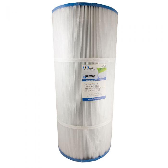 Spa filter Darlly SC709 60471 - Pleatco PTL47W - Unicel 6CH-47