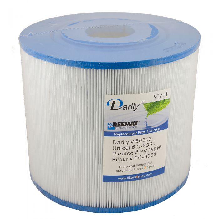 Spa filter Darlly SC711 80502 - Pleatco PVT50W - Unicel C-8350