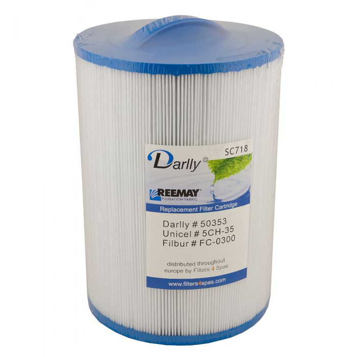 Spa filter Darlly SC718 50353 - Pleatco PMAX50P4 - Unicel 5CH-35