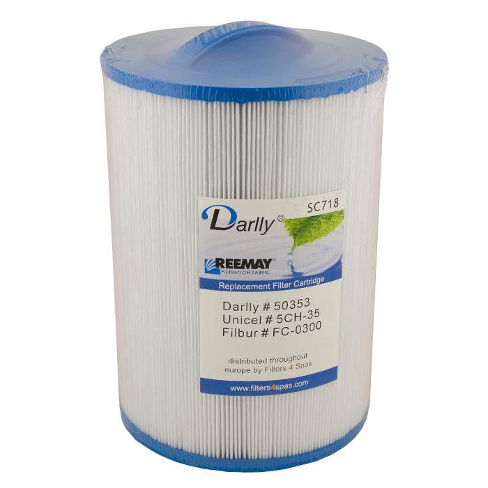 Spa filter Darlly SC718 50353 - Pleatco PMAX50P4 - Unicel 5CH-35