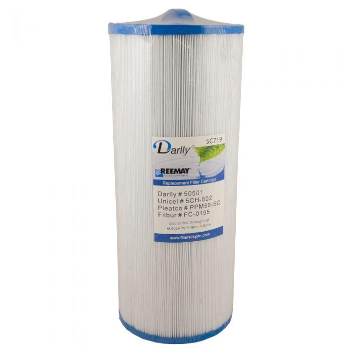 Spa filter Darlly SC719 50501 - Pleatco PPM50-SC - Unicel 5CH-502