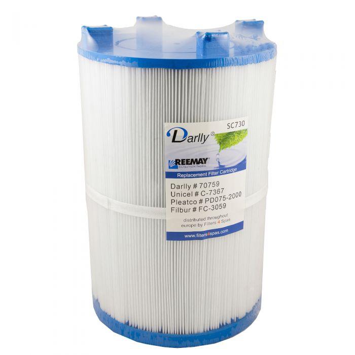 Spa filter Darlly SC730 70759 - Pleatco PDO75-2000 - Unicel C-7367 voor Dimension ONE Spas
