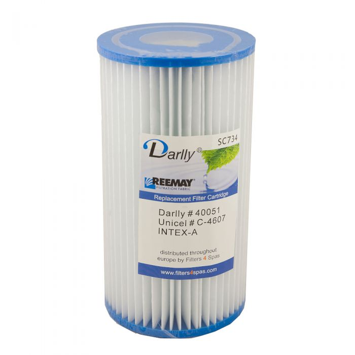Spa filter Darlly SC734 40051 - Pleatco PC7-120 - Unicel C-4607 - Intex A