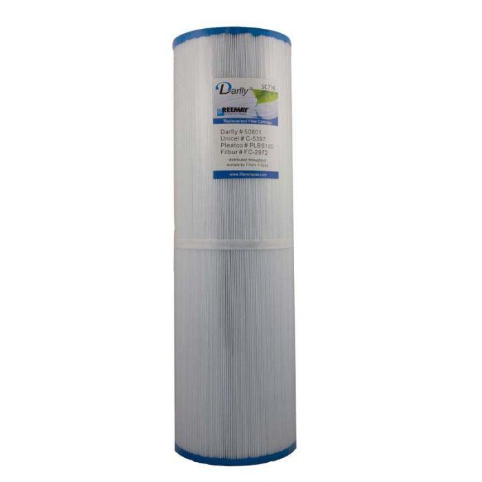 Spa filter Darlly SC738 50801 - Pleatco PLBS100 - Unicel C-5397