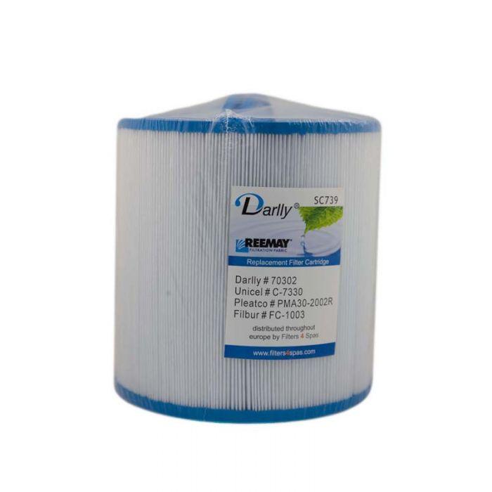 Spa filter Darlly SC739 74010 - Pleatco PMA40-F2M voor Master Spas