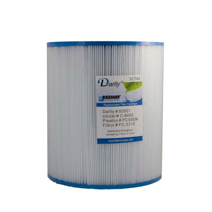 Spa Filter Darlly SC744 80501 - Unicel C-8450 -Pleatco PCS50N