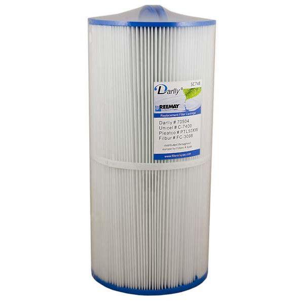 Spa Filter SC748 70504 - Unicel C7400 - Pleatco PTL50XW