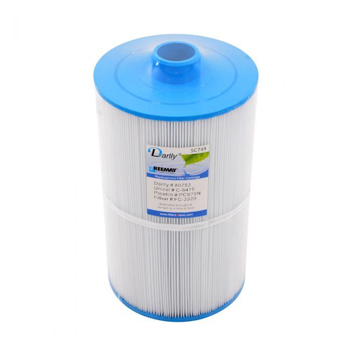 Spa Filter Darlly SC749 80753  - Unicel C-8475 - Pleatco PCS75N