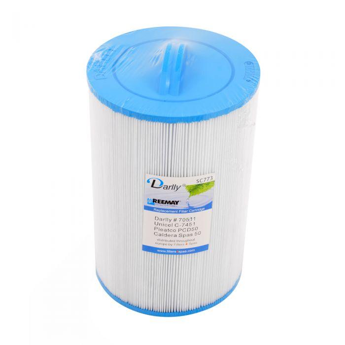Spa Filter Darlly SC773 70511 - Unicel C-7451- Pleatco PCD50
