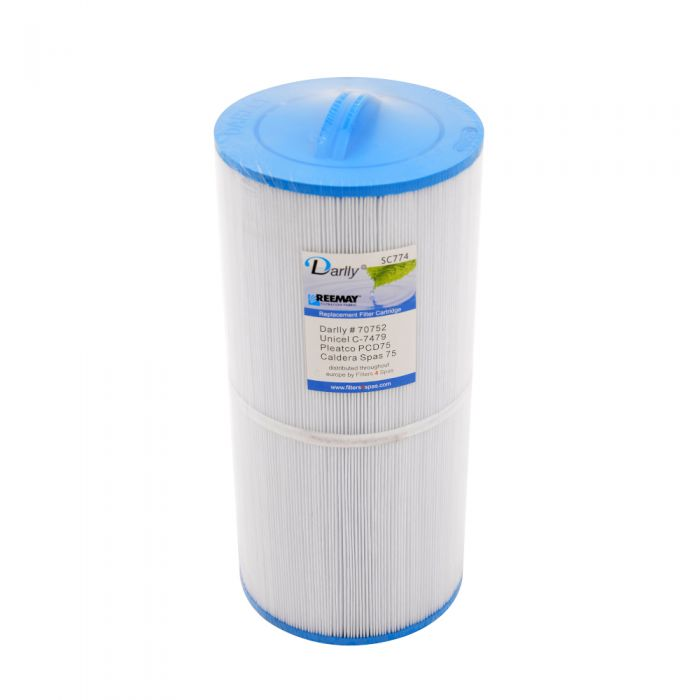 Spa Filter Darlly SC774 70752 - Unicel C-7479 - Pleatco PCD75