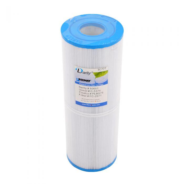 Spa Filter Darlly SC777 50651 - Unicel C-5374 - Pleatco PLBS75