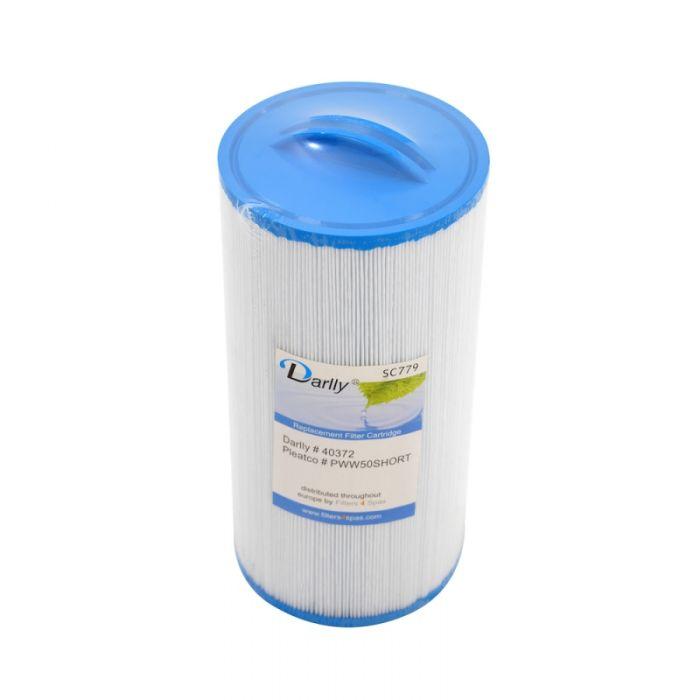 Spa Filter Darlly SC779 40372 - Pleatco PWW50S Short (Rising Dragon)