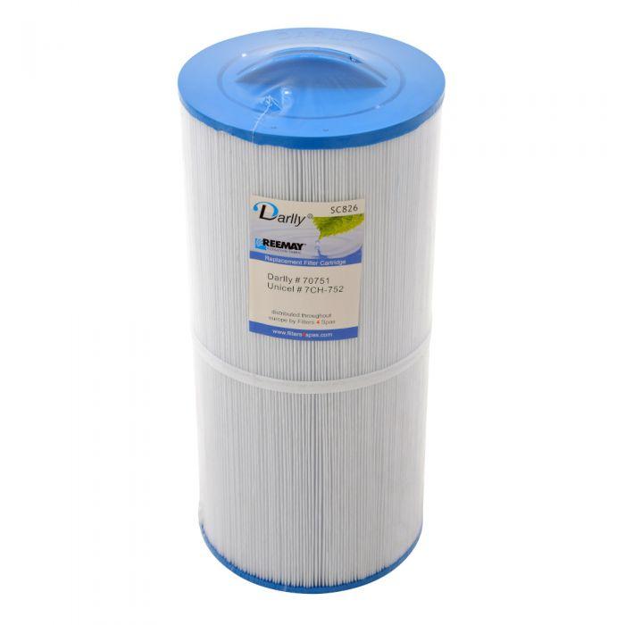 Spa Filter Darlly SC826 70751 - Unicel 7CH-752 - Pleatco PTL75XW voor oa Dimension One