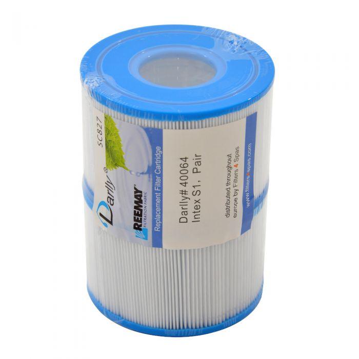 Spa Filter Darlly SC827 40064 -  Intex S1 (A-kwaliteit) set 2 stuks