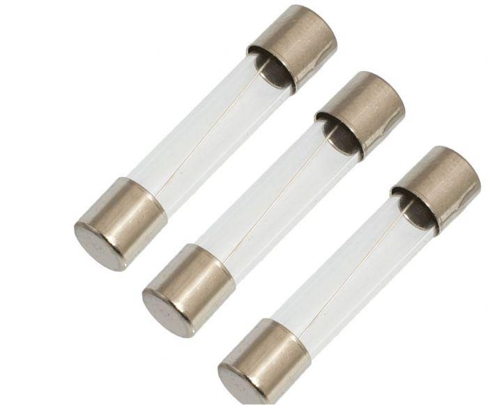 Glaszekering Balboa lengte 31mm, zekering 1/8A, 125mA