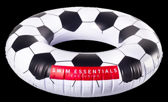 Opblaasbare zwemband Voetbal 90cm tot 80kg