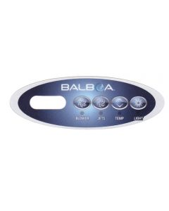 Sticker voor Balboa display type VL200 - Blower - Jets - Temp - Light