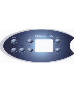 Sticker voor Balboa display type VL702S - 2 pompen + blower