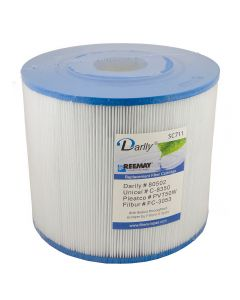 Spa filter Darlly SC711 80502 - Pleatco PVT50W - Unicel C-8350